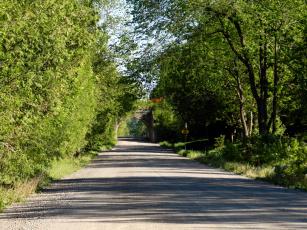 обоя природа, дороги, шоссе, дорога, арка