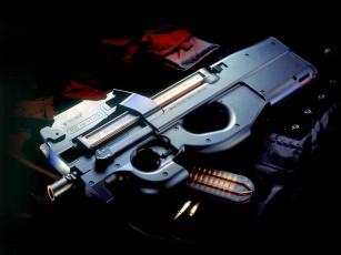 обоя p90, оружие, автоматы