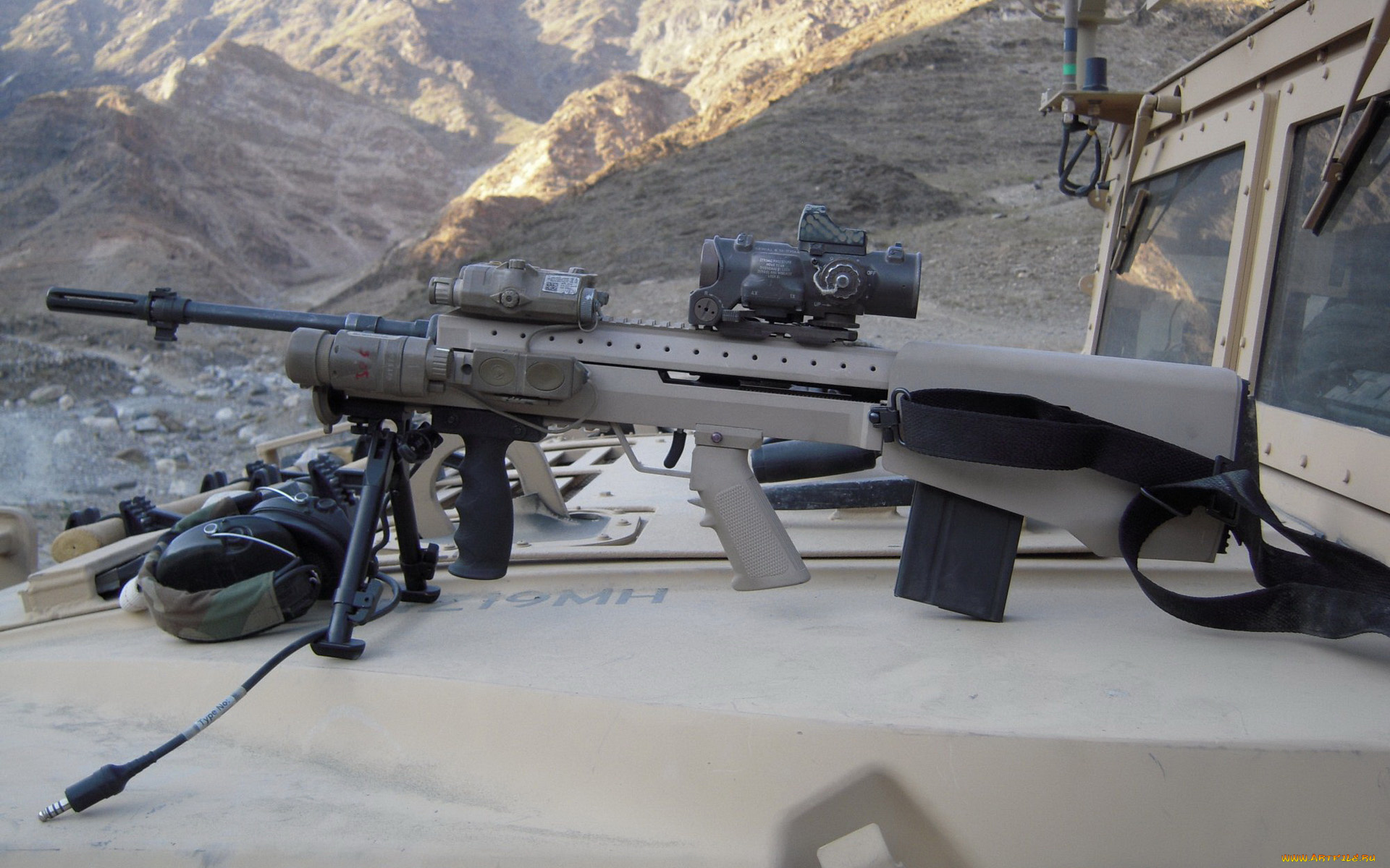 armys long serving sniper rifle - HD1920×1080
