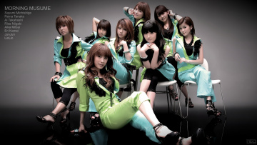 Картинка morning musume музыка група Япония девушки