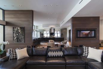 Картинка интерьер -+другое диван подушки кухня картины кресла мебель столик