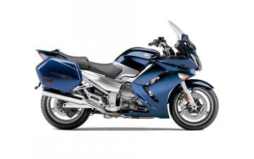 Картинка мотоциклы yamaha синий 2012 fjr1300a