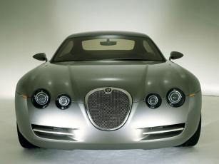 обоя jaguar r coupe concept 2001, автомобили, jaguar, r, coupe, concept, 2001