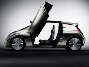 обоя nissan mixim concept 2007, автомобили, nissan, datsun, concept, 2007, mixim