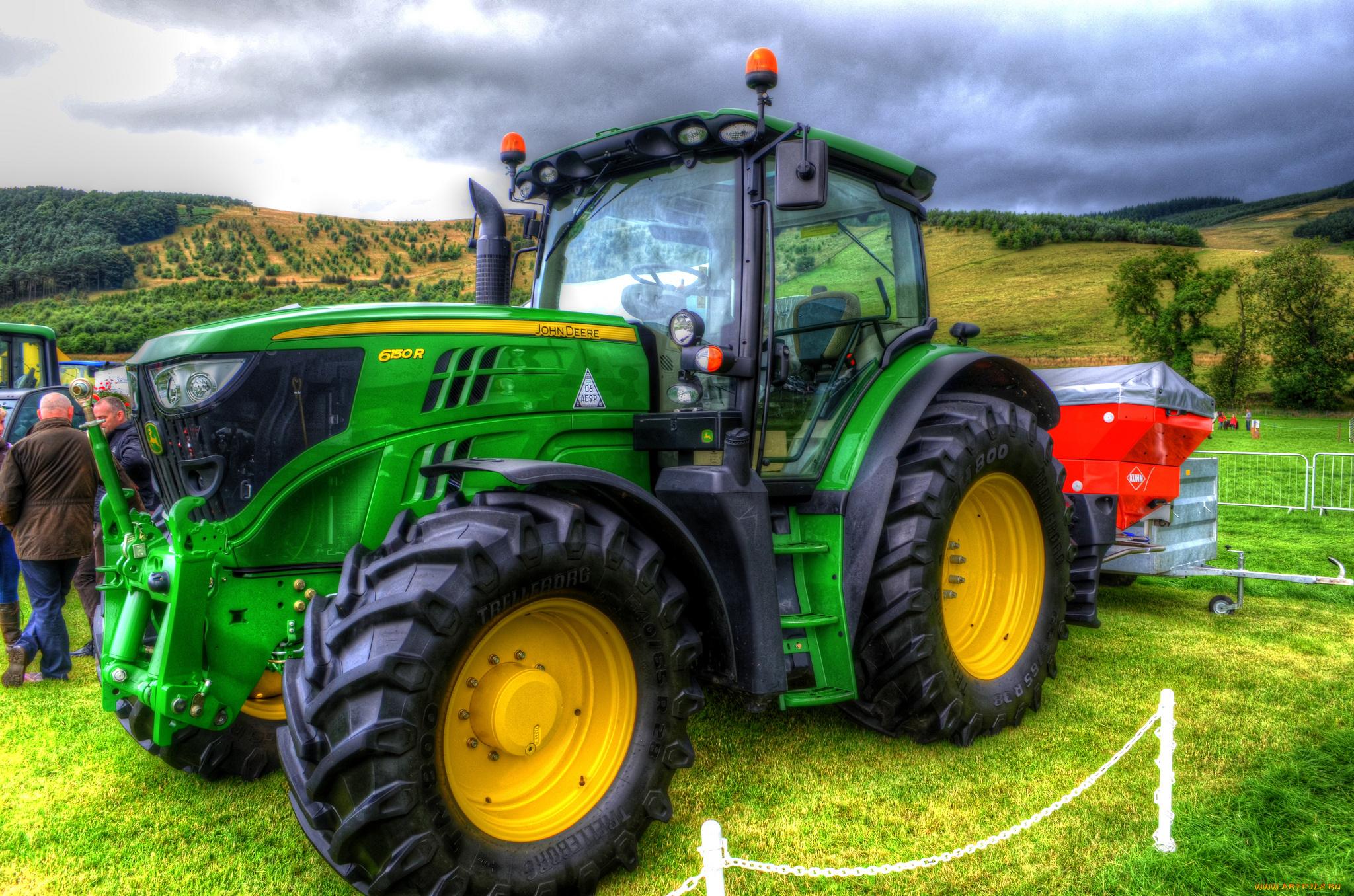 видео с тракторами