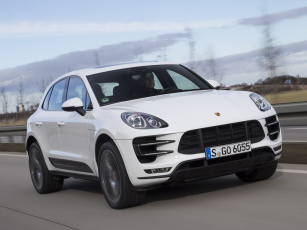 обоя автомобили, porsche, turbo, macan, 2014