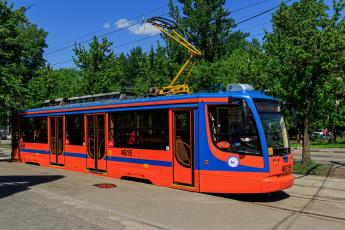 обоя трамвай, техника, трамваи, москва