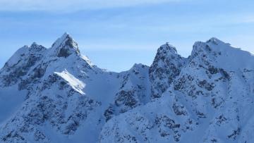 обоя природа, горы, снег