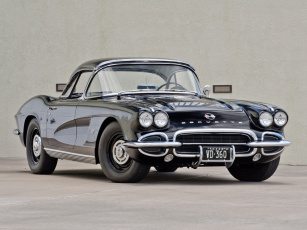 Картинка corvette+c1+fuel+injection+1962 автомобили corvette c1 fuel injection 1962 чёрный