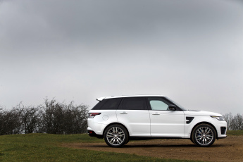 Картинка автомобили range+rover range rover sport svr uk-spec 2015г светлый