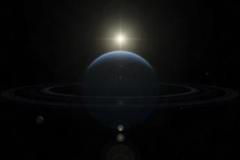 обоя космос, арт, звезды, галактика, вселенная, планеты