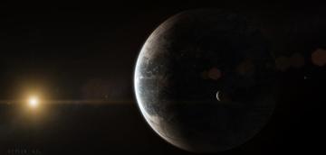 обоя космос, арт, звезды, галактика, планеты, вселенная