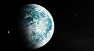 обоя космос, арт, звезды, вселенная, планеты, галактика
