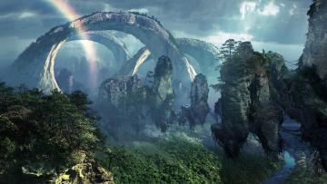 обоя кино фильмы, avatar, аватар, мир, космос, планета, природа