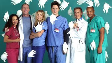 обоя scrubs, кино фильмы, персонажи