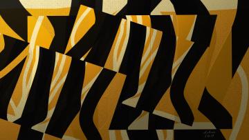 обоя векторная графика, графика , graphics, линии, цвет, формы, холст, абстракция