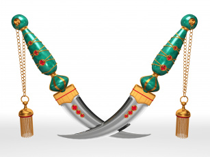 обоя оружие, 3d, ножи