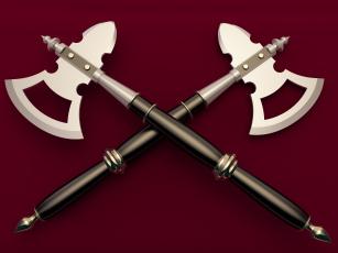 обоя оружие, 3d, сякира