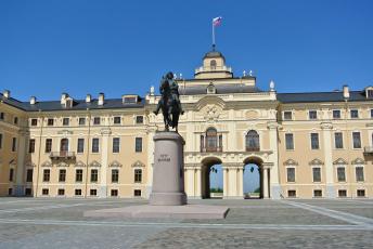 обоя дворец конгрессов, города, санкт-петербург,  петергоф , россия, памятник, санкт-, петербург, дворец, конгрессов