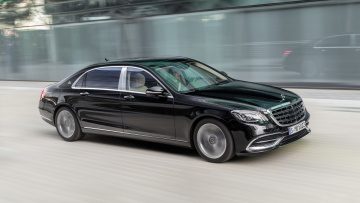 обоя mercedes-maybach s560 s-class 4matic 2018, автомобили, mercedes-benz, mercedes-maybach, s560, s-class, 4matic, 2018