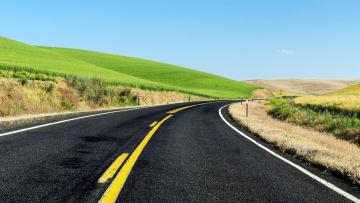 обоя природа, дороги, шоссе