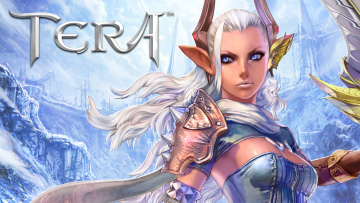 обоя видео игры, tera,  the exiled realm of arborea, ролевая, the, exiled, realm, of, arborea, онлайн