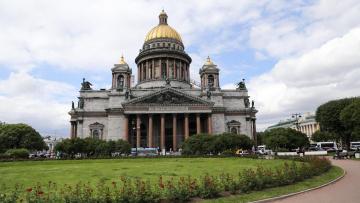 обоя города, санкт-петербург,  петергоф , россия, храм, санкт-, петербург, исаакиевский, собор