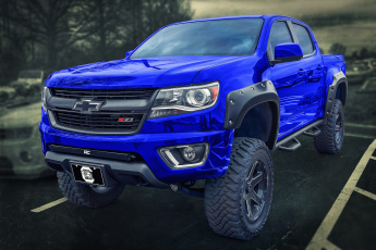 обоя chevy colorado z71, автомобили, chevrolet, спорткар