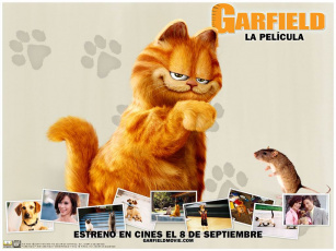 обоя garfield, the, movie, кино, фильмы