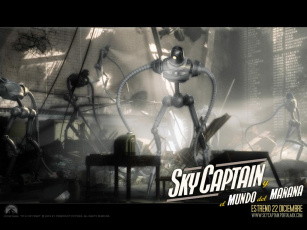 обоя sky, captain, and, the, world, of, tomorrow, кино, фильмы