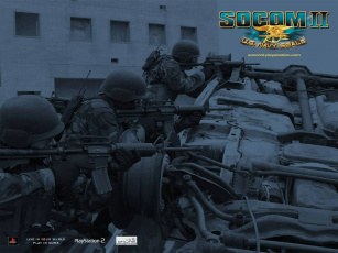 обоя socom, ii, us, navy, seals, видео, игры