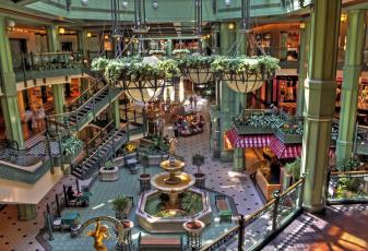 обоя интерьер, казино, торгово, развлекательные, центры, магазины, бутики, фонтан, люстра, колонны