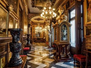 обоя интерьер, дворцы,  музеи, дворец, убранство