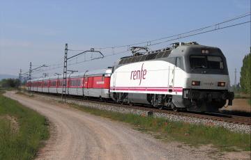Картинка техника электровозы железная дорога рельсы локомотив состав