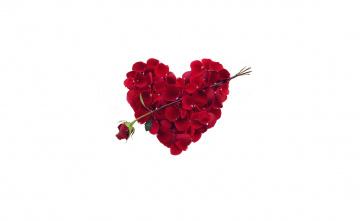 обоя праздничные, день святого валентина,  сердечки,  любовь, ipad, retina, iphone, сердце, романтика