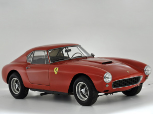 Картинка автомобили ferrari 250 gt красный berlinetta interim lwb