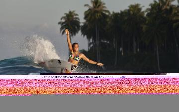 обоя спорт, серфинг, волна, фон, доска, взгляд, девушка