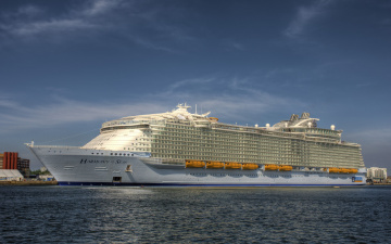 обоя harmony of the seas, корабли, лайнеры, лайнер, круиз