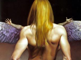 обоя фэнтези, ангелы