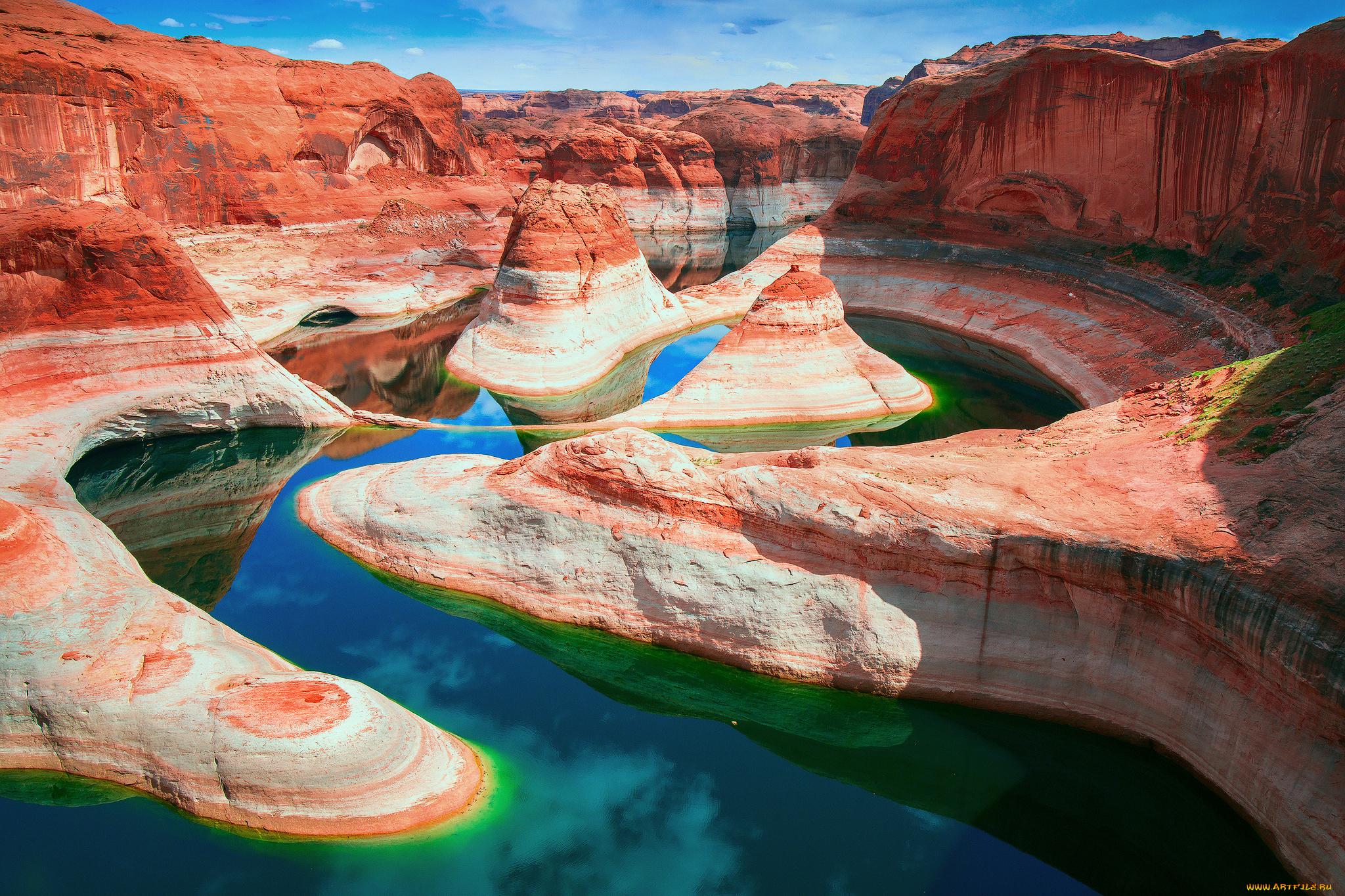 River Of Life, Colorado River, Page, Arizona  № 1781673  скачать