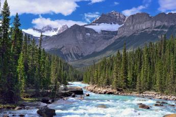 Картинка природа реки озера река лес горы