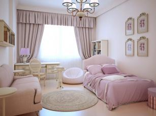 обоя интерьер, детская комната, детская, мебель, стиль