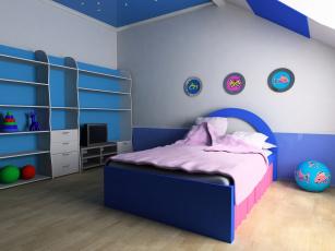 обоя интерьер, детская комната, игрушки, стиль, мебель, детская