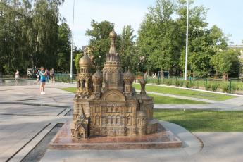 обоя питер, города, - памятники,  скульптуры,  арт-объекты, макет, сабор, город