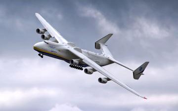 Картинка ан 225 мрия авиация грузовые самолёты тяжелый транспортный грузовой самолет