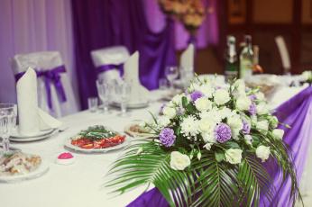обоя интерьер, декор,  отделка,  сервировка, цветы, посуда, сервировка, кафе, праздник