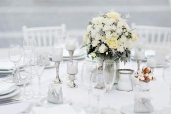 обоя интерьер, декор,  отделка,  сервировка, цветы, сервировка, праздник, кафе, посуда