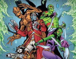 обоя рисованное, комиксы, guardians, of, the, galaxy