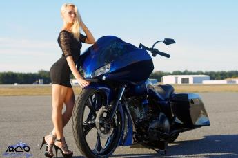 обоя moto girl, мотоциклы, мото с девушкой, girl, moto
