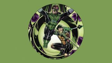 обоя рисованное, комиксы, green, arrow
